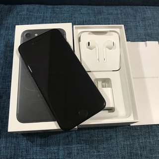 🚚 iPhone7 4.7 霧黑 128g