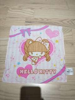 Hello kitty絕版 手巾