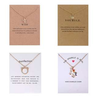 [In Stock] 2018 Stylish European Style Necklaces