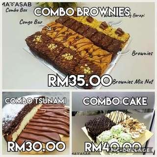 #meletop combo cake