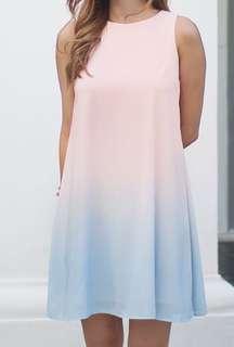 Lyane Dress (Pastel Ombré)
