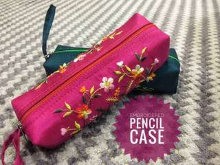 Vietnam Embroidered Pencil Case