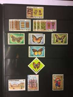 Stamps Maldives