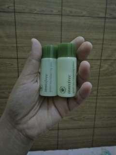 Innisfree green tea balancing skin dan balancing lotion