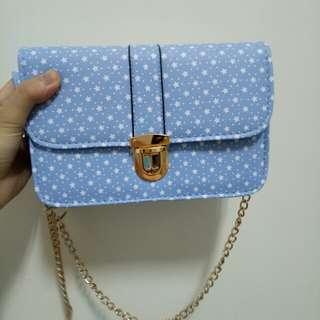日系可愛星星小包包