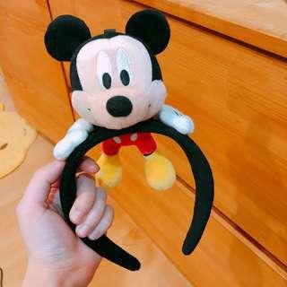 2018 東京迪士尼米奇造型髮箍