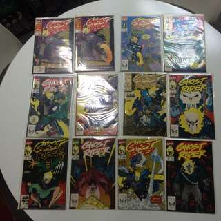 Ghost Rider Comics #1 to #21 including #1, #5 & #6 2nd Printing