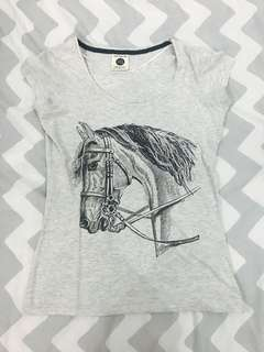 Cotton On top (horse print)