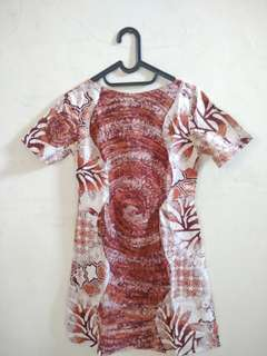 Dress Batik Abstract