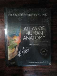 ATLAS OF HUMAN ANATOMY BY Frank H. Netter 6th edition