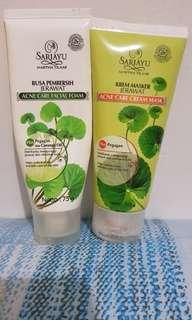 Sariayu Acne Care Facial Foam & Mask
