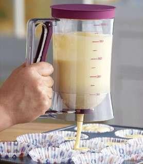900ml Cupcake Pancake Batter Dispenser Kitchen Tools