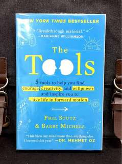 # Highly Recommended《New Book + The Techniques To Transform Everyday Life Challenges Into Opportunities》Phil Stutz & Barry Michels :  THE TOOLS : 5 Tools to Help You Find Courage, Creativity, And Willpower--And Inspire You to Live Life in Forward Motion
