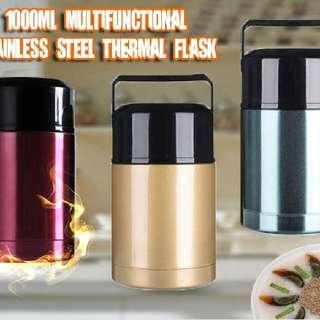 1000ml Multifunctional Stainless Steel Thermal Flask  Rm37 Pos semenanjung rm8  Pm Wasap 0176725125