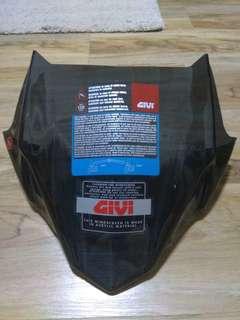 Givi MT-09 Windshield light smoke instock!!  A2132