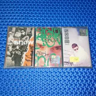🆕 Combo Snow Cassettes Lot of 3