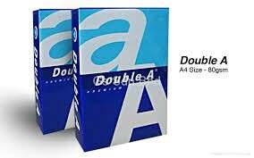 A4 DOUBLE A