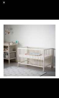 Ikea Baby Cot Gulliver