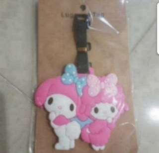 In Stock My Melody Luggage Tag