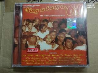 CD SING A LONG TO OI!