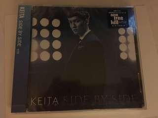 橘慶太 Keita w-inds. Side by Side CD 通常盤 日版