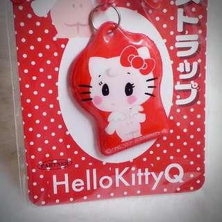 Hello Kitty HelloKittyQ 日本 BB公仔 吊飾 CG11007 4975899612862