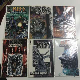 Kiss Psycho Circus #1 to #11 by Image Comics