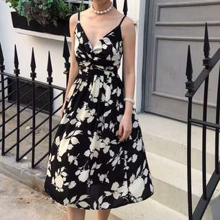 Charming floral dress