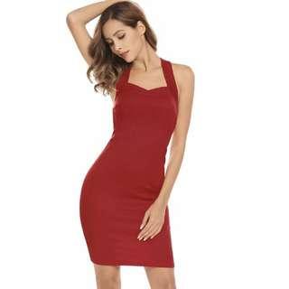 finejo sexy red dress