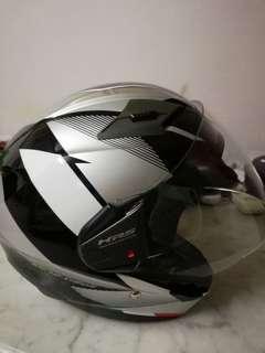USED GIVI HELMET XL size(double visor)