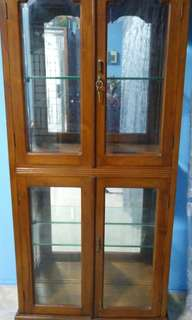 Display cabinet and TV rack