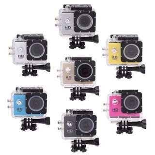 Action camera a sport Camera