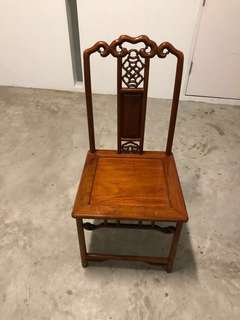 Sold! Defect ! Read ! Cheapest rare vintage good quality wood chair