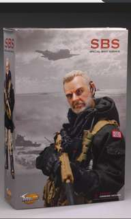 1/6 Scale Toys City British Royal Navy Special Boat Service (SBS)
