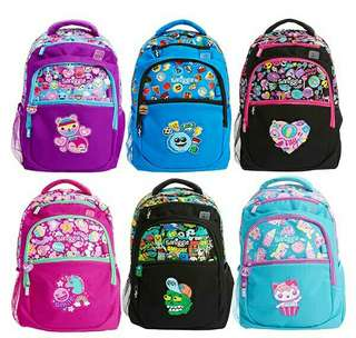 Ready stock smiggle backpack