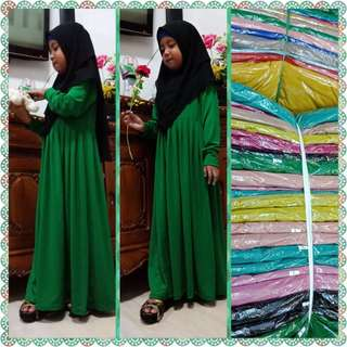 Long Dress with tudung