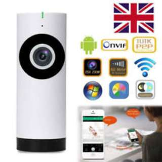 720P Wireless WIFI CCTV 180° Fisheye Home Security