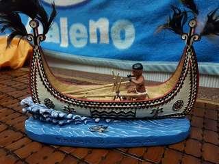 蘭嶼拼板舟模型