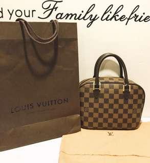 Louis Vuitton Damier Canvas Sarria Mini Bag!