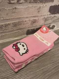 BNWT FOX Hello Kitty Socks