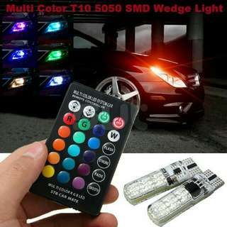 T10 5050 6SMD RGB Colorful