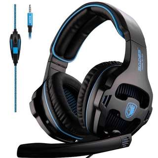 571. Sades SA-810 Multi-platform Compatible Over-Ear Stereo Bass Gaming Headphone