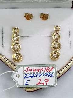 Japan 18k Diamond