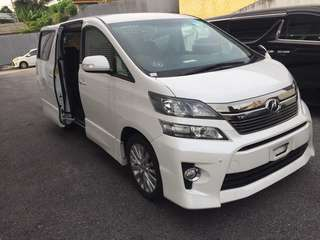 Toyota Vellfire 2.4 Z Unregistered