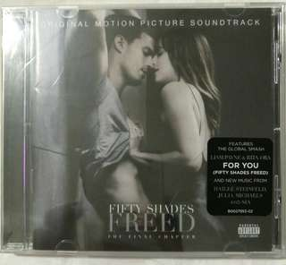 [Music Empire] Fifty Shades Freed Original Movie Soundtrack OST CD Album