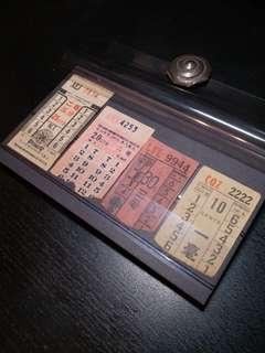 古祖九龍巴士舊車票1組