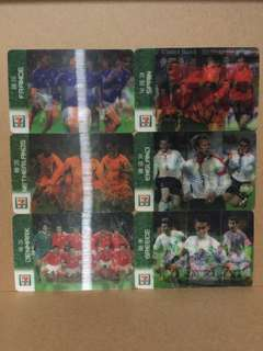 麥當勞各國足球隊收藏卡 McDonald's National Football Team Collection Card