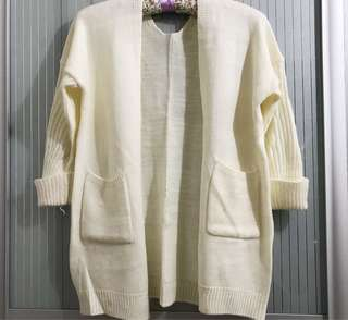 Knitted cardigan sweater M/L (Incl. Pos)