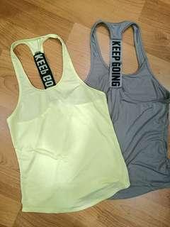 Workout singlet
