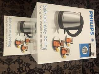 Brand New Philips 1.5L electrical kettle HD9306